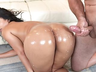 Oiled Rose Monroe Getting Fucked In All Possible Ways By Her Friend