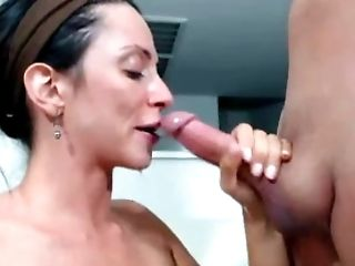 Home Suck With Facial Cumshot