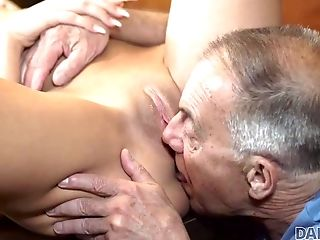 Daddy4k. Old Man With Boner Penetrates Attractive...