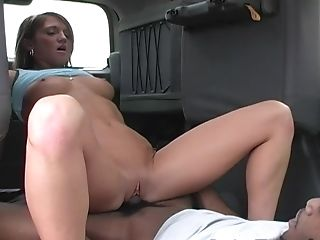 Amazing Spring Thomas Having Her Poon Fucked In A Car With A Coal Cane