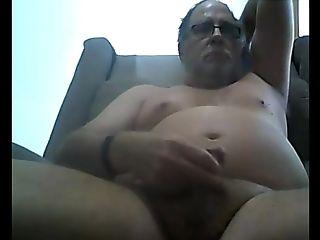 Grand-pa Stroke On Webcam
