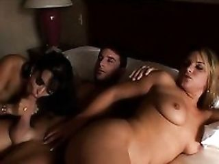 Thick Brown-haired Nymphomaniac Mason Storm Joins Her Sexy Friend And Her Bf In Couch