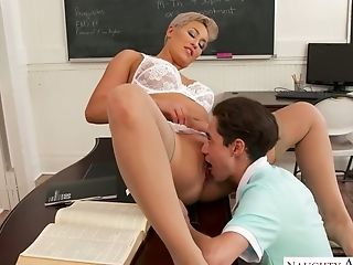 Harsh Professor Ryan Keely Revved To Be Very Hot And Insatiable Mummy