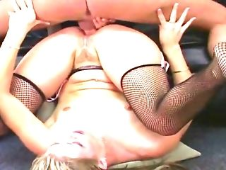 Nasty Blonde Leah Luv Gets Gonzo Dual Foray