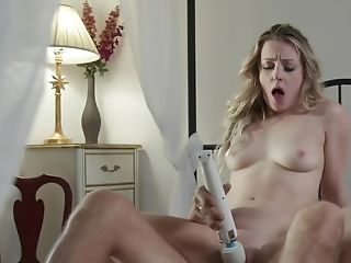 Youthful Blonde Beauty And Her Stepfather Have Hot Fuckfest