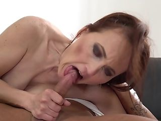 Matures Sandy-haired Luvs Teenage Pipe In Her Mouth And Cunt