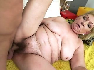Old Whore With Big Saggy Tits Irene Has A Dirty Intercourse With One Youthfull Dude