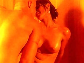Lucky Dude Gets To Fuck Exotic Stephanie Tripp In A Sauna
