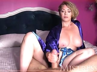 Mistress Female Domination Hand Jobs - Cherry Indignity By Experienced Woman