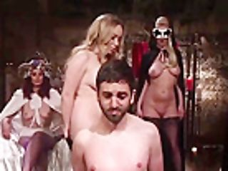Aiden Starr And Friends Penalize Sub Servant