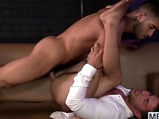 Diego Fucks The Jism Out Of Vadim Blacks Taut Little Fuck Hole