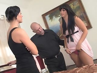 India Summer And Alison Tyler Take Turns At Pleasing His Dick