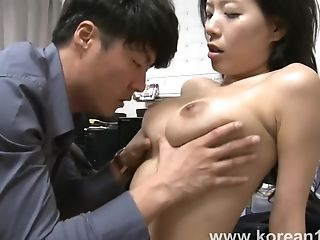Korean Gal Amazing Inexperienced Porno Flick