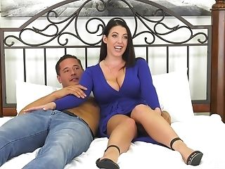 Amazing Switch Sides Cowgirl Puss Smashing With Whorey Angela Milky