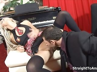 Piano Lesson Turn Dual Buttfuck Fucking
